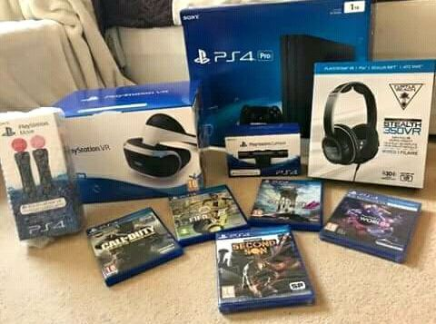 Playstation 4 pro novo a venda