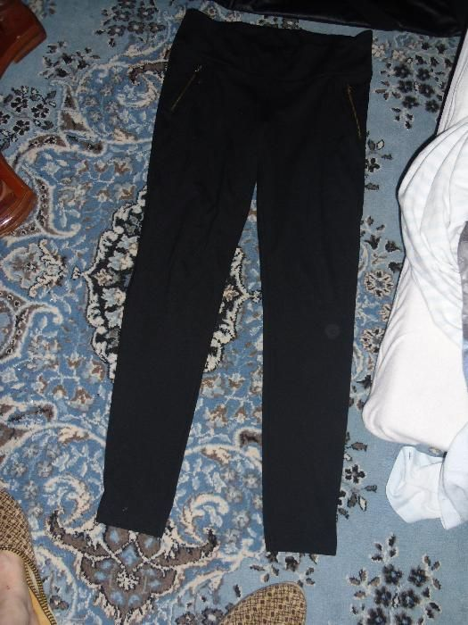 pantaloni cu piele naturala