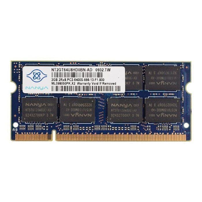 Memorii RAM 2GB DDR2 800Mhz PC2-6400S Laptop SODIMM NOI!