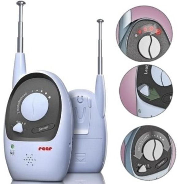 -45 % Reducere, Baby Monitor REER-PROFESIONAL-Rigi 1000. NOI Sigilate
