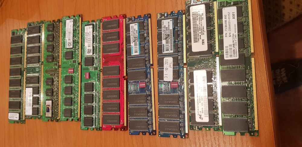Vand lot memorii RAM