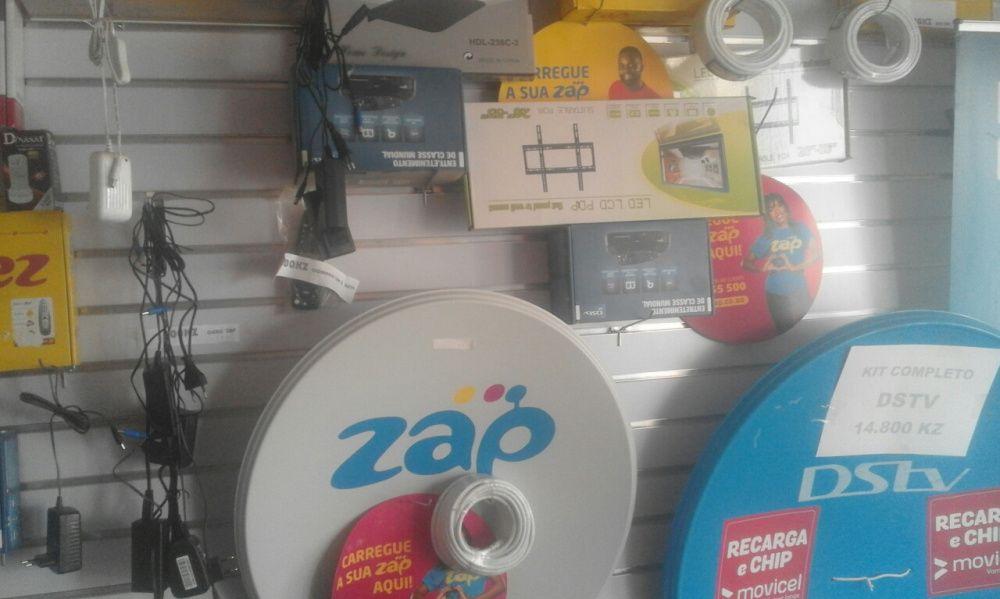 ZaP e dstv venda e montagem. Kit completo