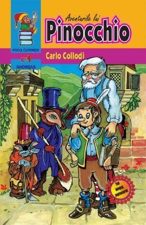 Carte Pinocchio - Carlo Collodi