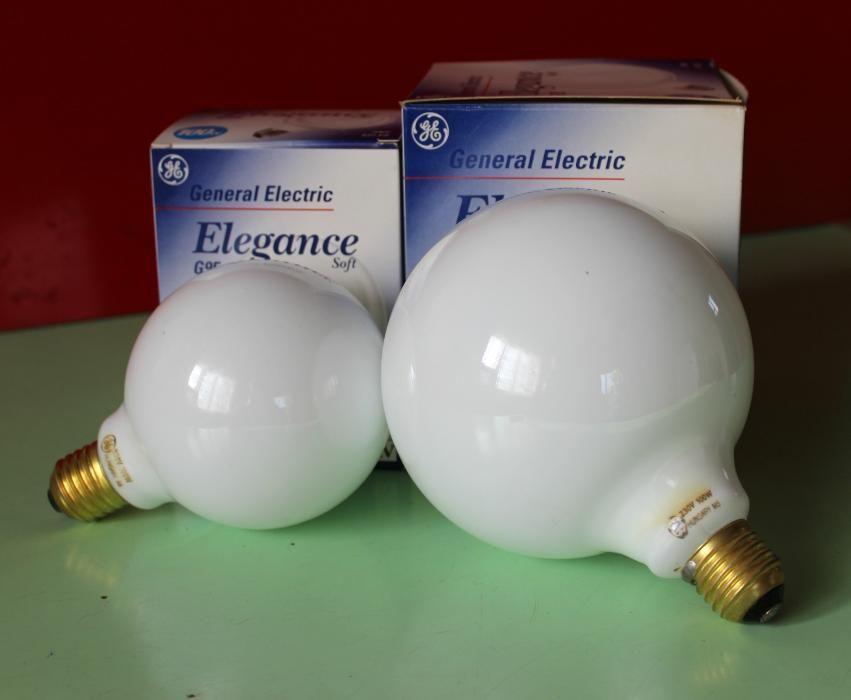 Лампы накаливания белые шары 100 Вт