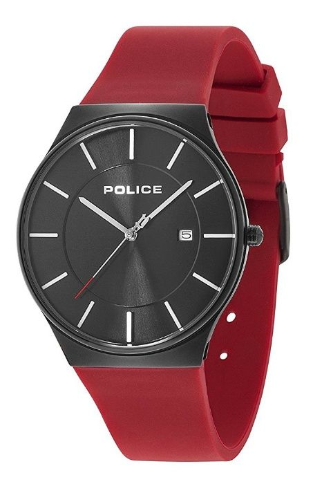 Police New Horizon rosu ceas barbati nou 100% original. Livrare rapida
