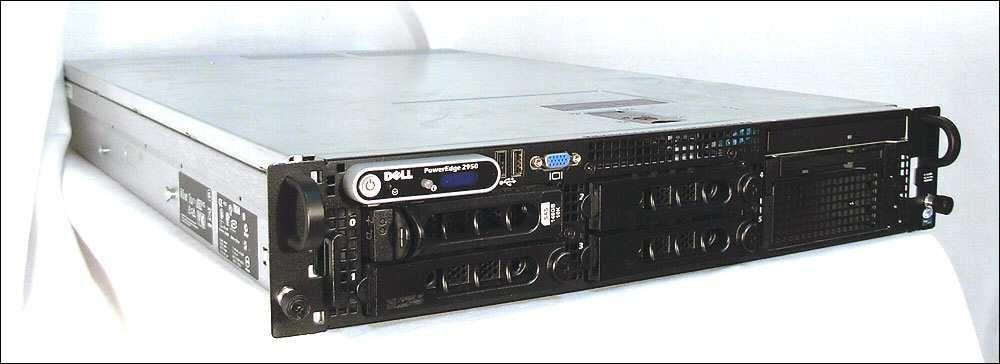 server dell poweredge 2950 semi novo