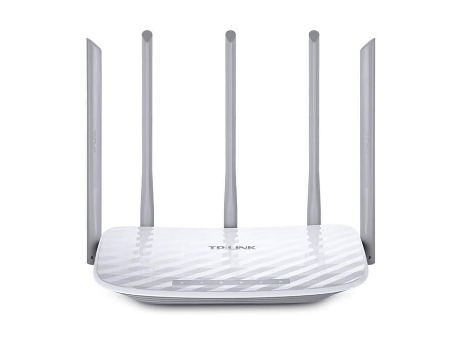 Рутер безжичен Router TP-Link Archer C60 AC1350 Wi-Fi Dual Band 1350