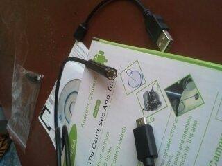 ендоскоп към телефон или компютър