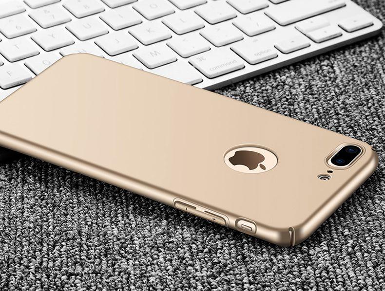 Thin Fit ултра тънък твърд мат кейс за iPhone 6, 7, 8, 7+, 6+, 8 Plus гр. София - image 6