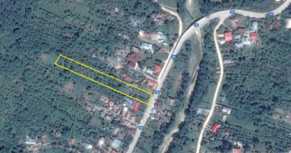 Vand teren intravilan + padure in comuna Botesti, jud. Arges