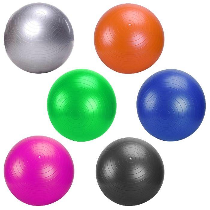 Гимнастическа Фитнес Топка 65 и 75 см, различни цветове