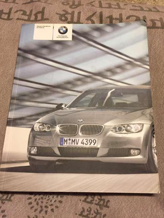 Vand manual pt BMW