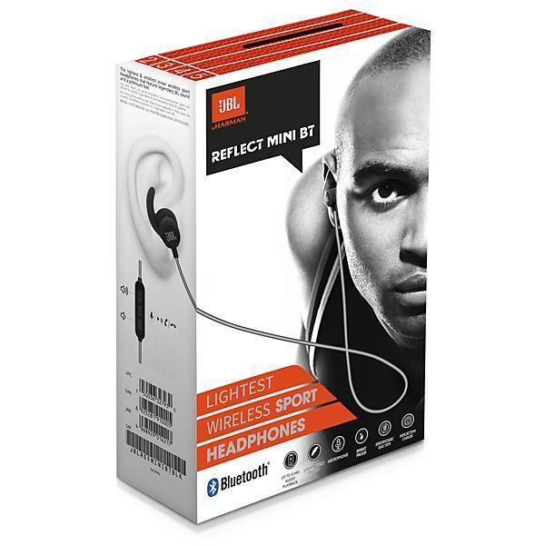 Casti audio in ear JBL Reflect Mini, bluetooth, rezistent la apa IPX-4
