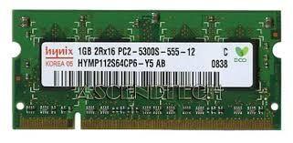 Memorie RAM 1Gb DDR2 667Mhz PC2-5300 SODIMM