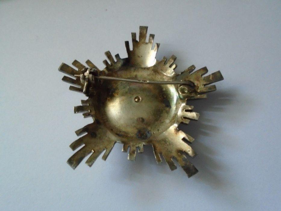 Ordinul Steaua RSR cls IV , argint , cutie, bareta Ploiesti - imagine 5