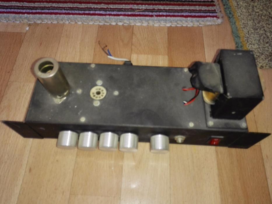 amplificator lampi, el84 ecc83 chitara, tub electronic