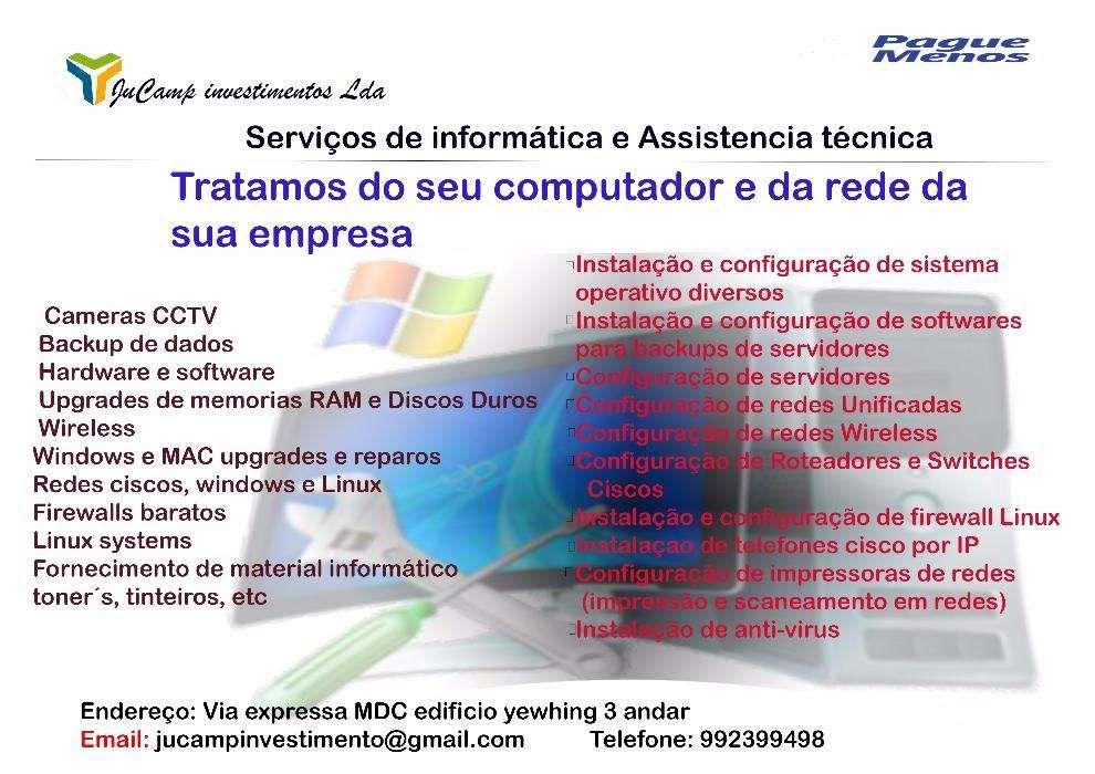 assistencia técnica informatica