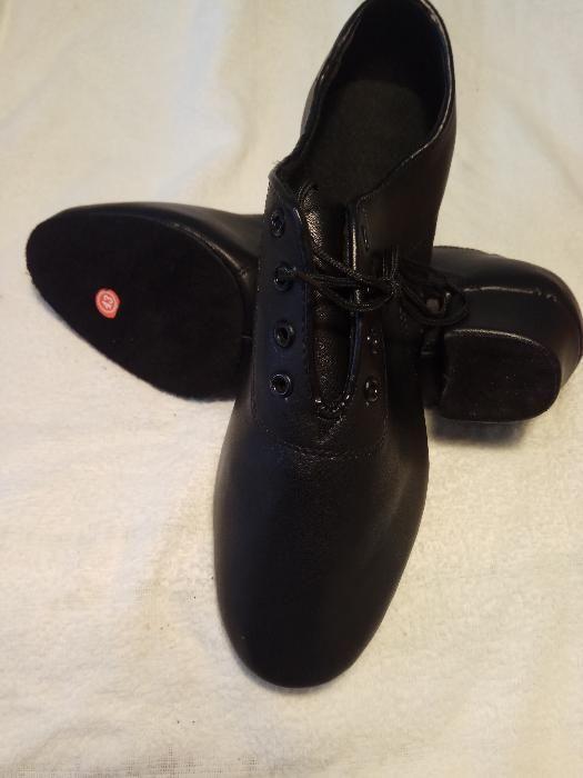 Мъжки обувки за спортни танци,салса,кизомба,танго- черни гр. София - image 2