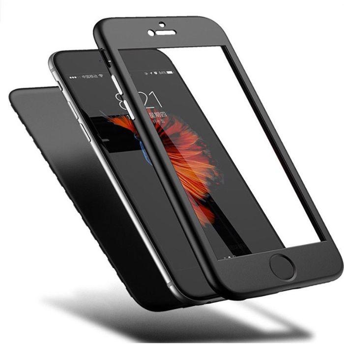 Iphone 6 6s Plus - Husa 360 Din Silicon Slim Fata si Spate