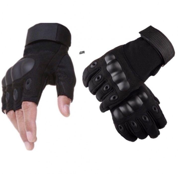 Тактически ръкавици / фитнес, спорт, туризъм - с пръсти и без пръсти