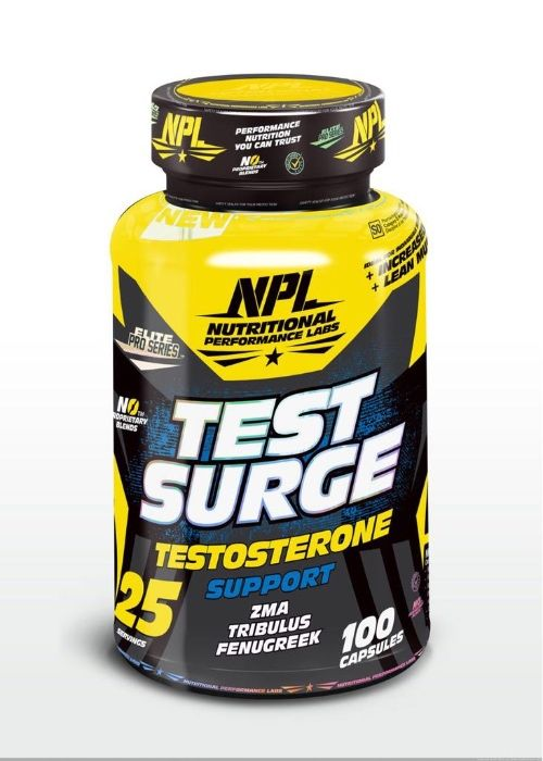 TestSurge para o aumento da massa muscular
