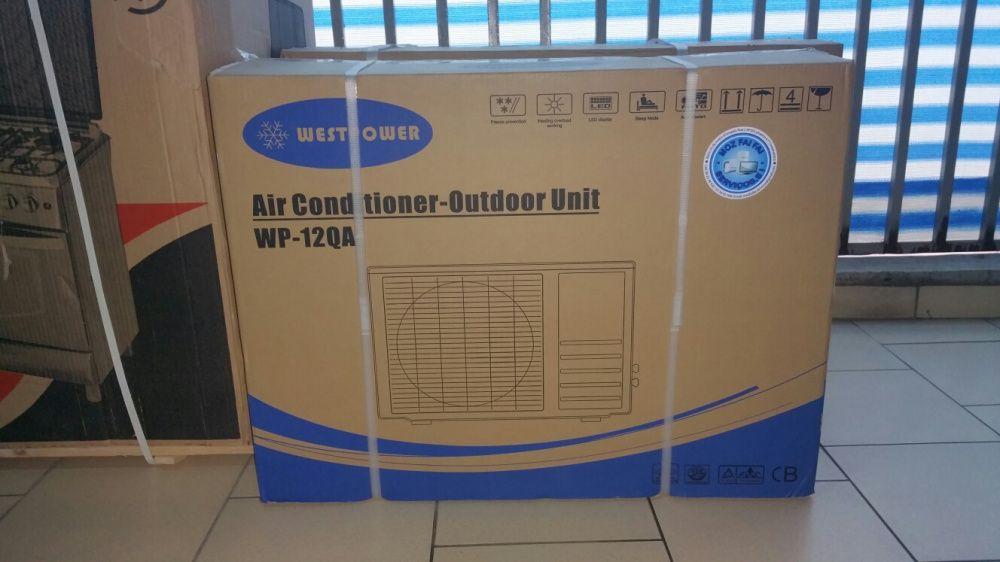 Ar condicionados split R22 Westpower 12000BTU novos na caixa