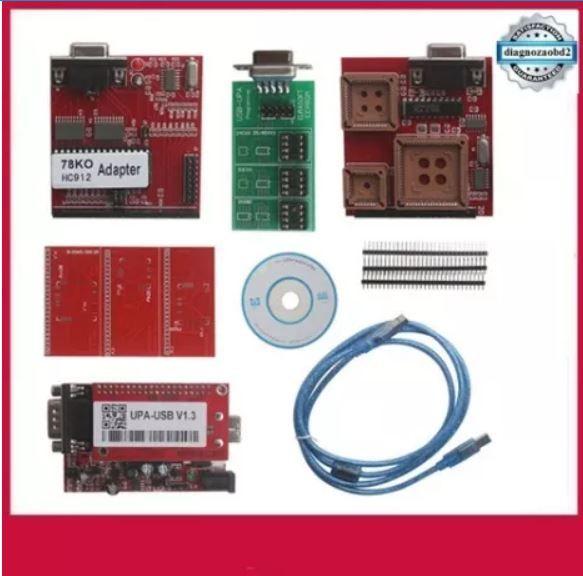 Programator memorii UPA V1.3 placa rosie ECU - USB + adaptoare