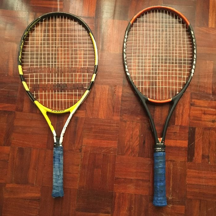 Raquetes ténis marca BABOLAT e DUNLOP a despachar