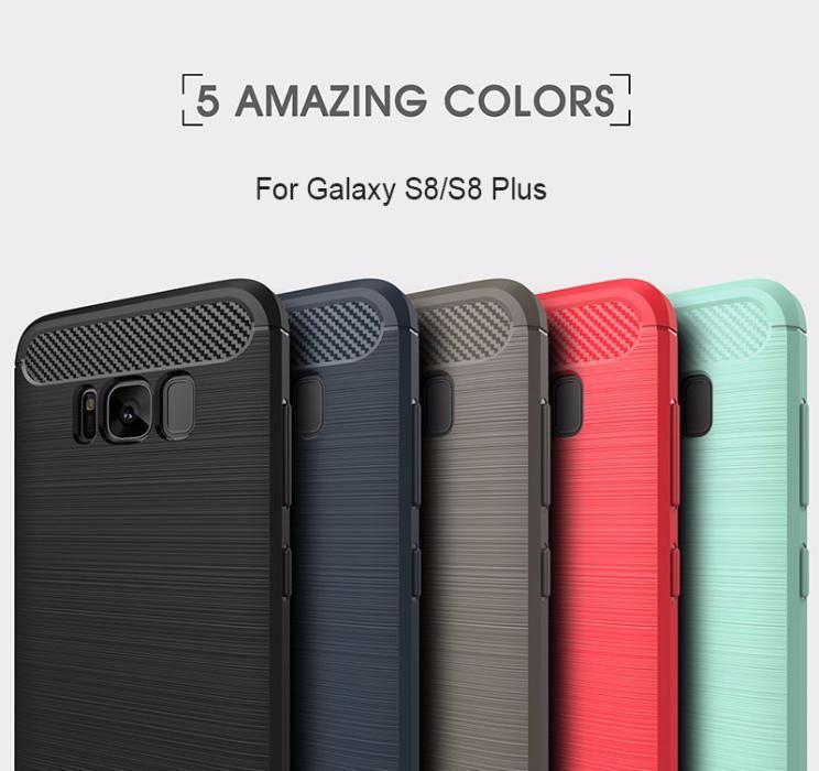 RUGGED ARMOR силиконов калъф кейс мат Samsung Galaxy S8, S8+, S9, S9+