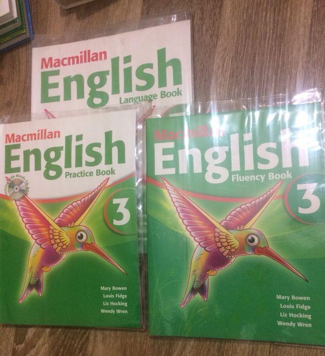 Учебники Macmillan English новые английский