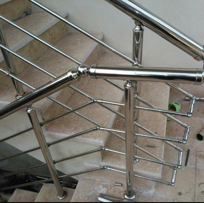Balustrade,trepte lemn,aluminiu,fier forjat