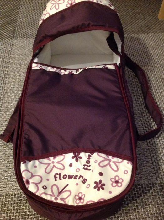 Landou textil pentru transport bebe (cu intaritura)