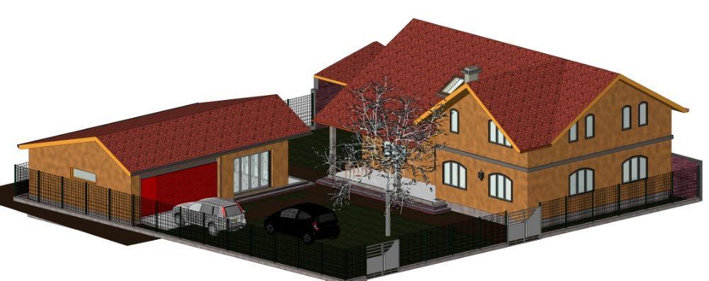 Proiectare constructii - case, anexe, hale industriale