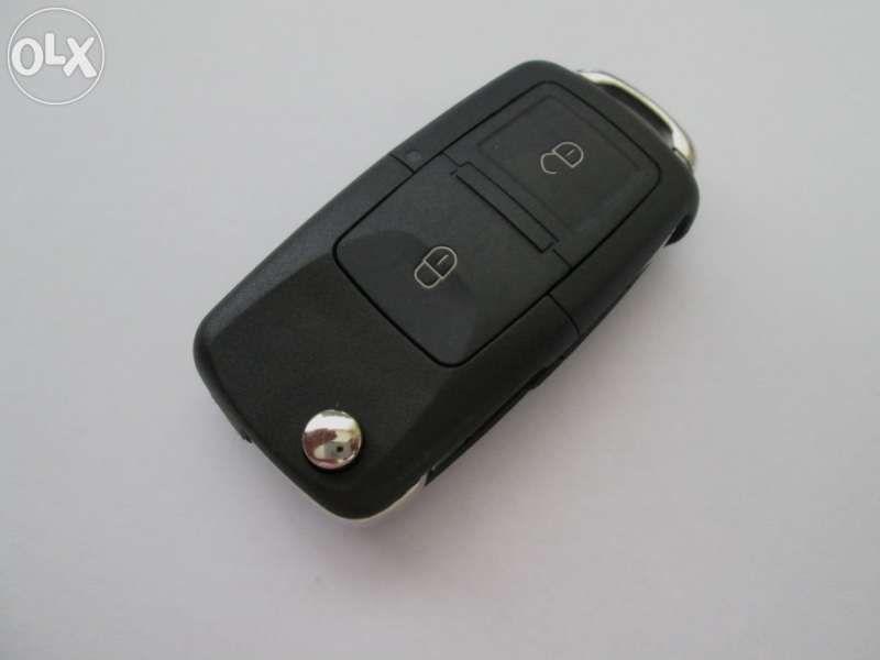Ключ 2 бутона комплект (VW, Skoda, SEAT) серия 1J0/959/753AG / CT!