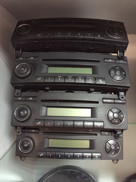 casetofon ,cd player mercedes sprinter 2005-2012