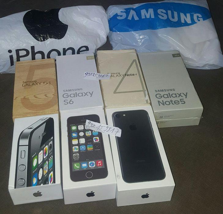 Made by Samsung e IPhone Cada Telemóvel Com seu preço