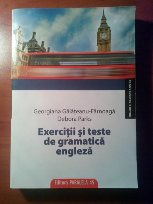 Culegere de exercitii si teste de gramatica engleza-Debora Parks