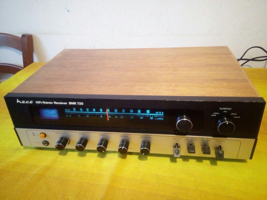 Amplificator amplituner vintage hi fi heco smr 720 germany