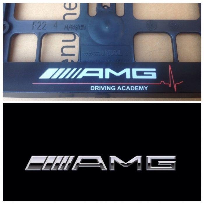 Подложки за номер АМГ Мерцедес държачи MERCEDES S63 AMG Е 65 222 пакет