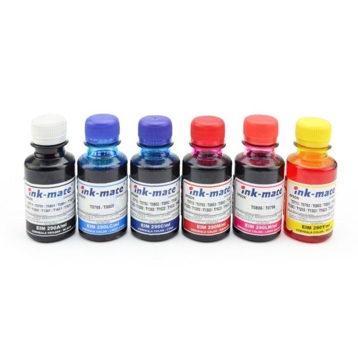 Cerneala reincarcare cartuse Epson orice model pigment sau dye