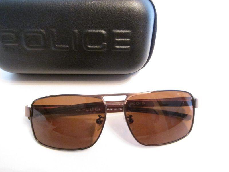 Ochelari de soare POLICE- Brown -rama titan !
