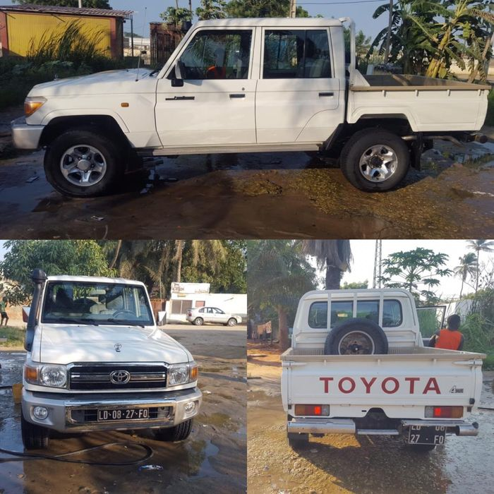 Vendo Toyota Land Cruiser HZ