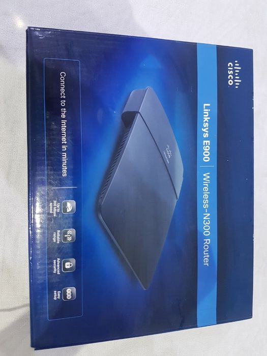 router LINKSYS e900 Wireles N300 Router