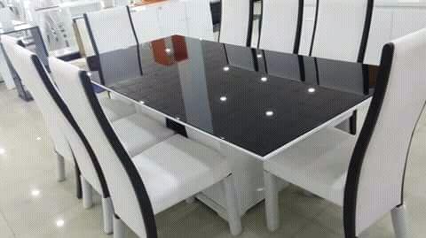 Mesa de 8 Cadeira Avenda