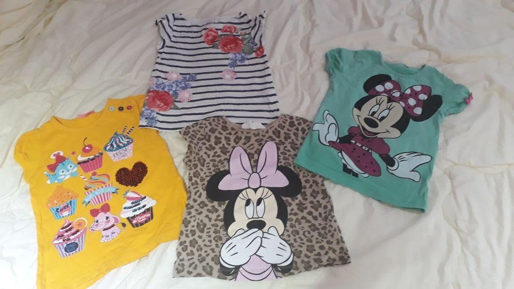 Много детски блузки,различни размери