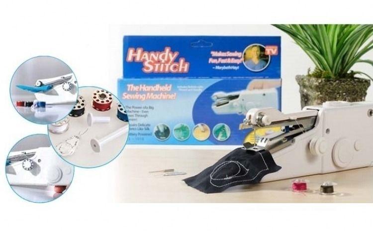 Masina de cusut portabila Handy Stitch, mini masina de cusut electrica