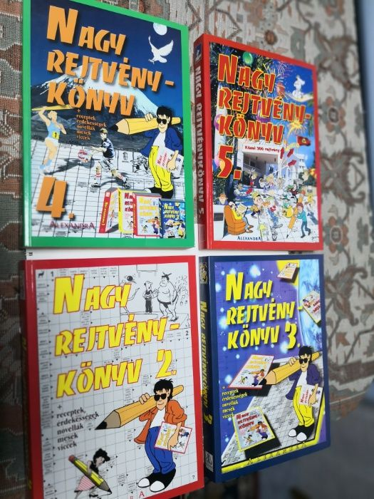 Reviste rebus in limba maghiara