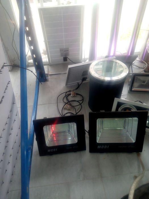 Lampadas solar Gambiar longo alcance ilumana o seu espaco sem custos