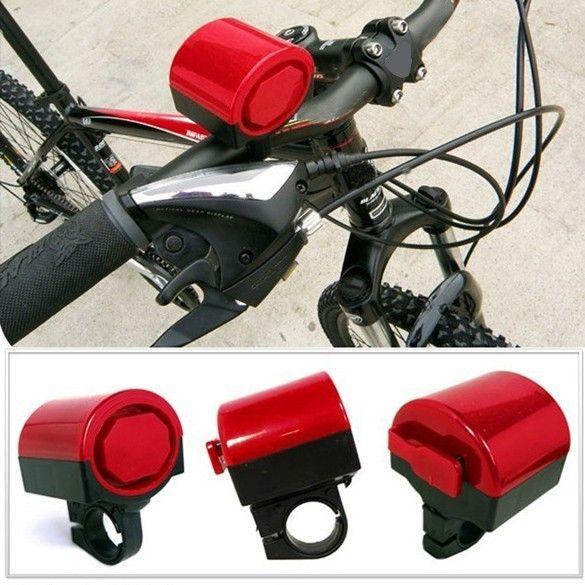[115dB] Claxon electric PUTERNIC bicicleta - extrem de util in trafic!