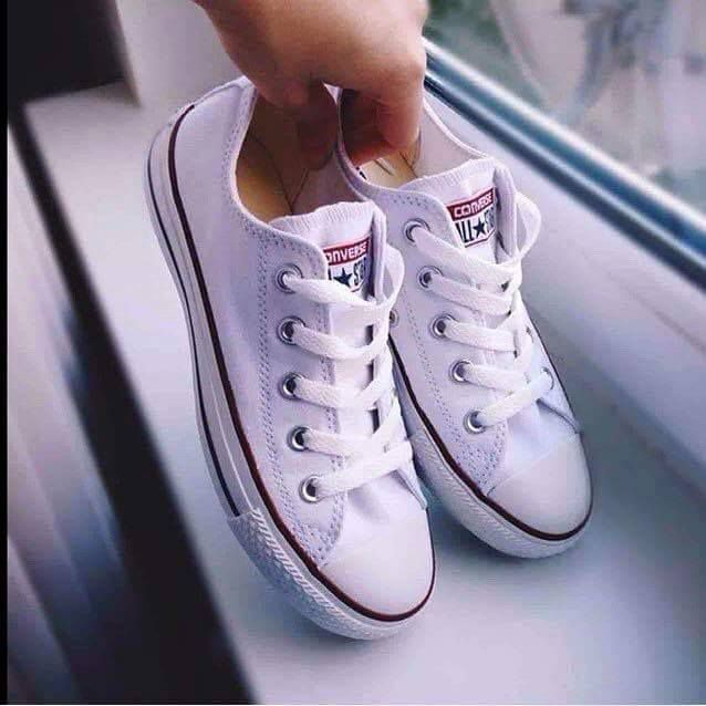 Tenisi Converse All Star-Alb